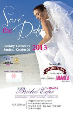 Jamaica Bridal Expo - Montego Bay - October 19-20 2013